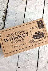 Mega Rocks Soapstone Whiskey Stones