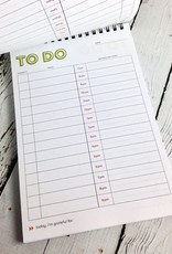 Schedule Magic Daily To Do List Notebook