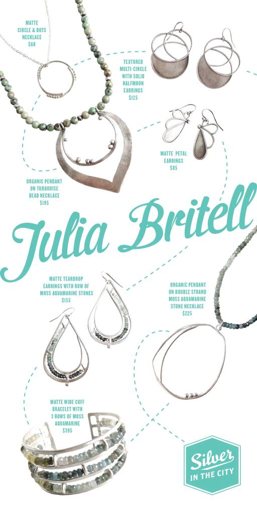 Gorgeous new pieces from Julia Britell