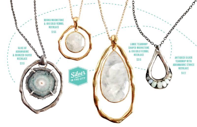 Moonstone & Aquamarine