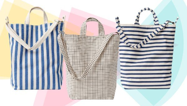 New Canvas Bags from Baggu