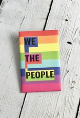 We the People Pride Pin by Shelter Serra, son of famed civil rights lawyer and activist J. Tony Serra.For every ACLU Pincause sold, Pincause donates $2.50 to ACLU National.