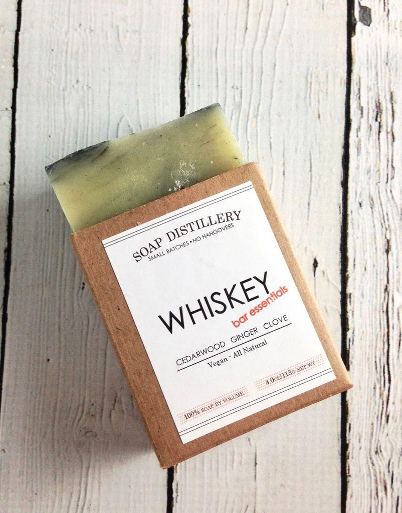 Whiskey Soap Bar