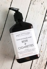 Beer + Cigarettes Hand and Body Wash