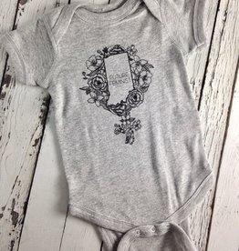 Indiana Future Feminist Baby Onesie, 6mo