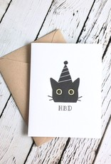 HBD Cat Birthday Card