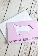 Neigh Neigh Card