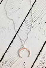 Handmade Silver Neptune Necklace
