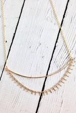 Handmade 14kt Gold Fill Rumi Necklace
