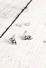 Sterling Silver Koala Stud Earrings