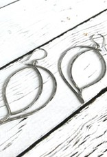 Handmade Oxidized Silver Earrings