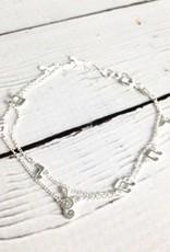 Sterling Silver Music Notes Bracelet