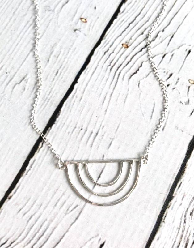 Sterling Silver Artemis Necklace