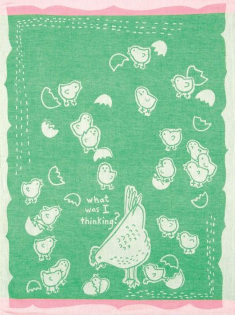 What Was I Thinking Woven Dish Towel