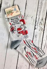 Normal Was Boring Women's Crew Socks