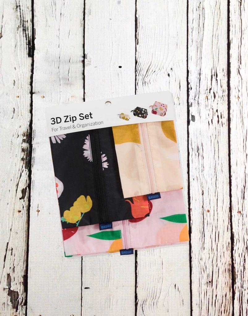 Flora 3D Zip Set