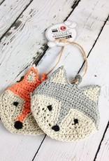 Calvin Cat Tawashi Animal Scrubbers
