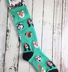 Dogs Of Rock Knee High Socks
