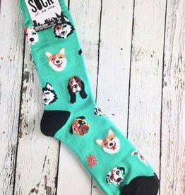 Dogs Of Rock Men's Crew Socks