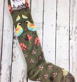 Well Quail-ified Knee High Socks