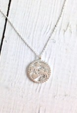 """Sterling Silver """"You are every nice thing"""" Magical Multi-icon Pendant Necklace"""