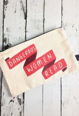 Dangerous Women Read Zip Pouch Pencil Case