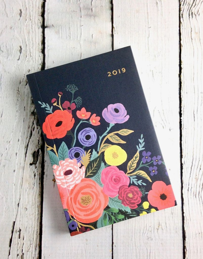 Juliet Rose 2019 Pocket Agenda (12 Month)