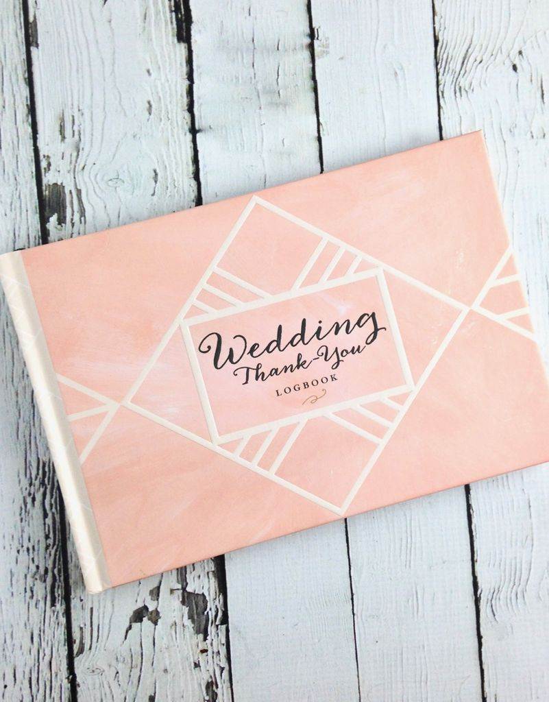 Wedding Thank You Journal - Silver in the City