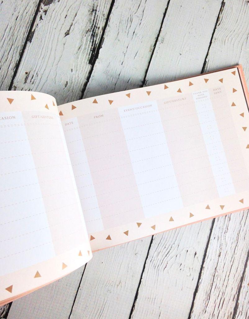 Wedding Thank You Journal