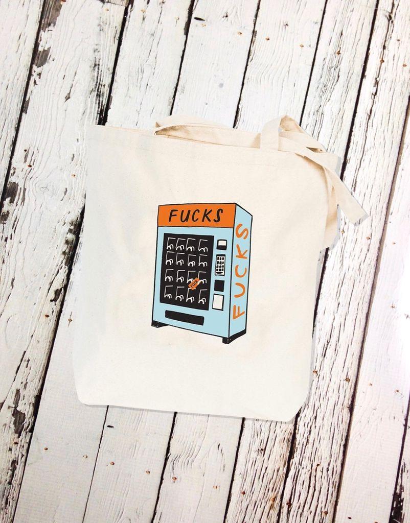 Fucks Vending Tote Bag