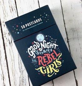 Goodnight Stories for Rebel Girls: 50 Postcards