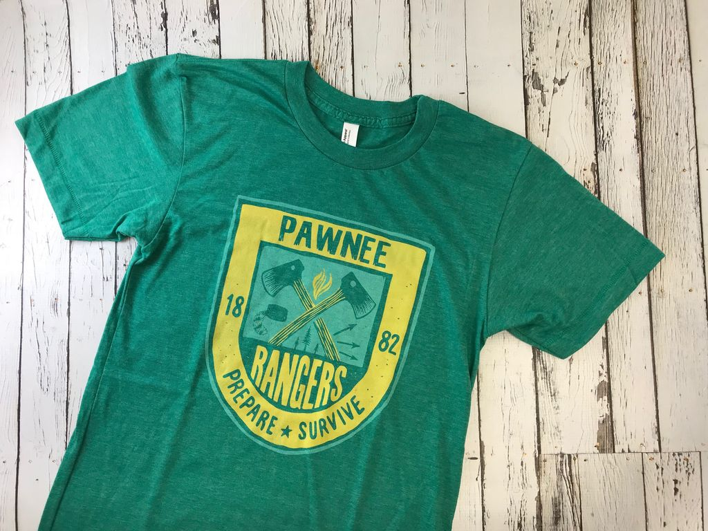 Pawnee Rangers Tee - Silver in the City