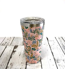 Pretty Pink Floral 16oz Insulated Tumbler
