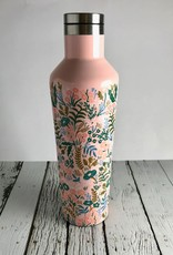 Glossy Pink Floral Design  16 oz Canteen by Rifle Paper Co