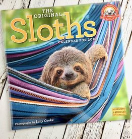 Sloths 2019 Wall Calendar