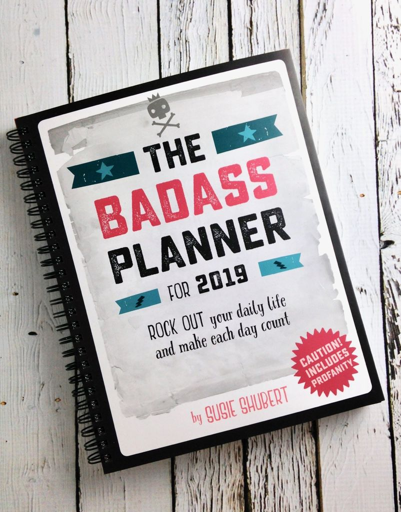 2019 Engagement Calendar: The Baddass Planner