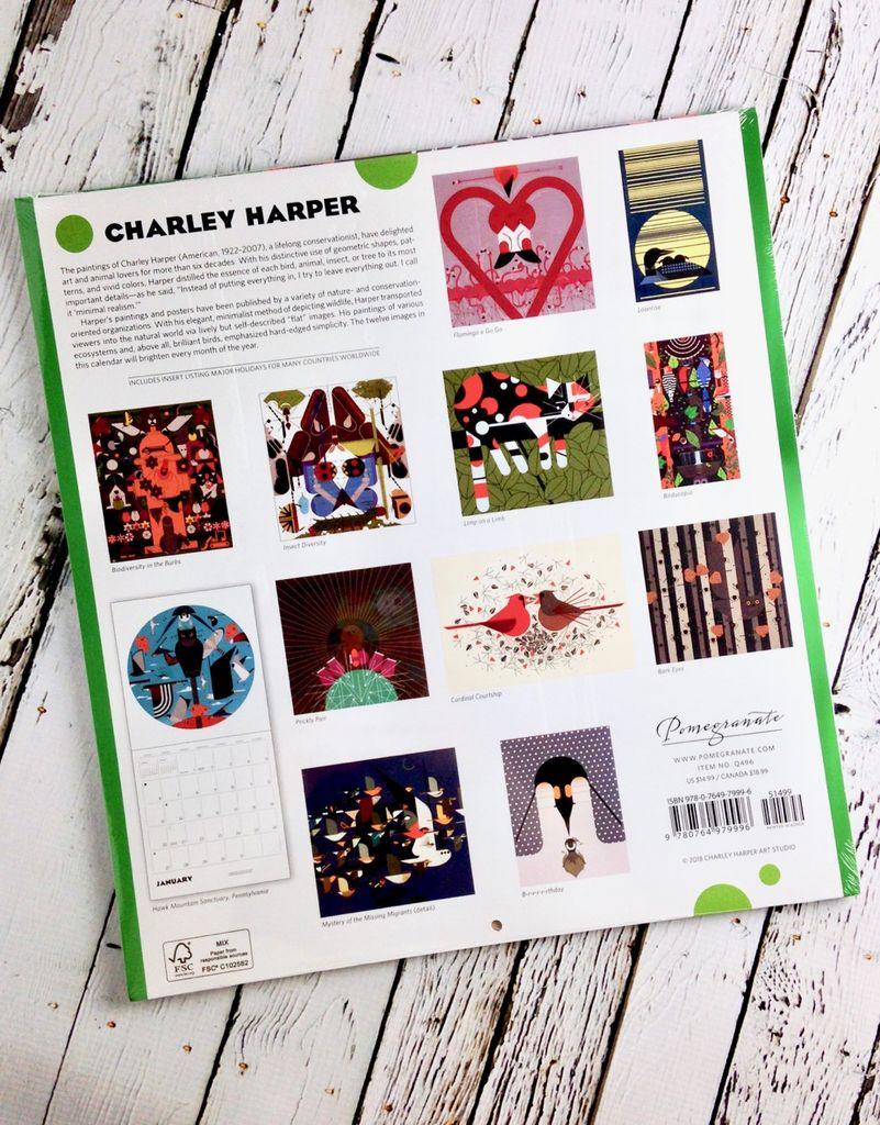 2019 Wall Calendar: Charley Harper