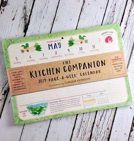 The Kitchen Companion Page a Week 2019 Calendar