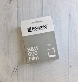 600 B&W Polaroid Film White Frame