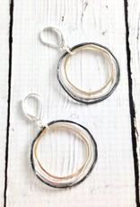 Mixed Metal Caldera Earrings