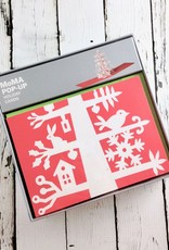 MoMA Scandinavian Tree Boxed Holiday Cards by David A. Carter, Set of 8