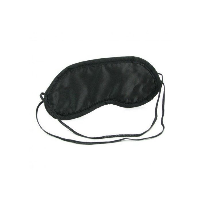 SATIN BLINDFOLD BLACK