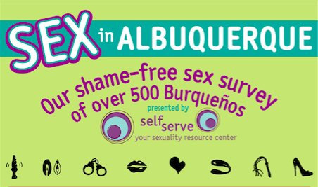 Albuquerque's Shame Free Sex Survey - From 2014