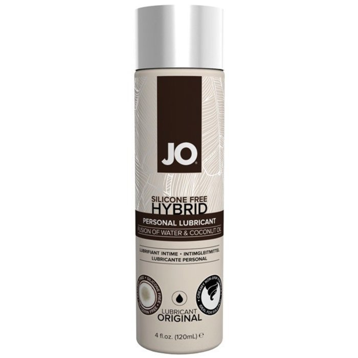 JO WATER AND COCONUT LUBE  4 OZ