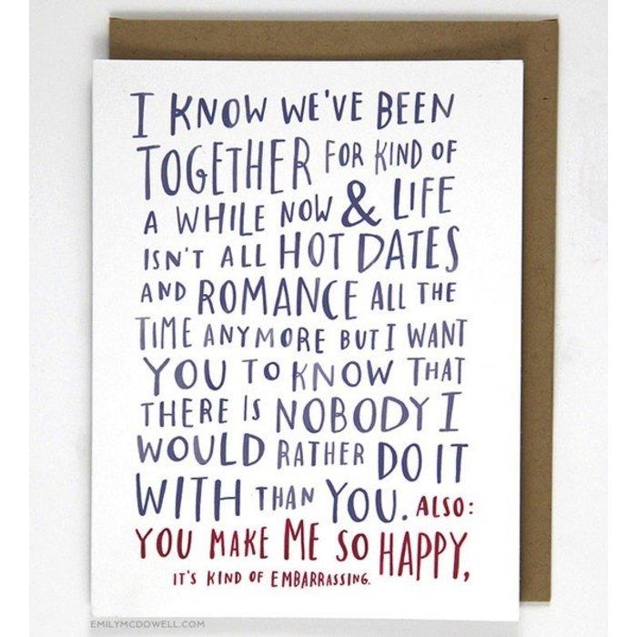 AWKWARD LOVE CARD