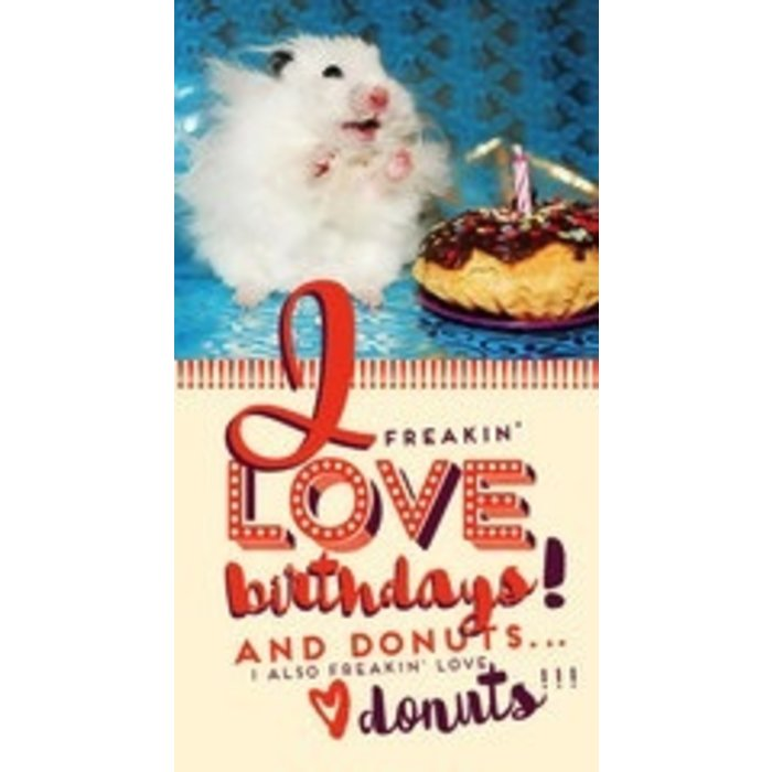 CARD HAMSTER BDAY