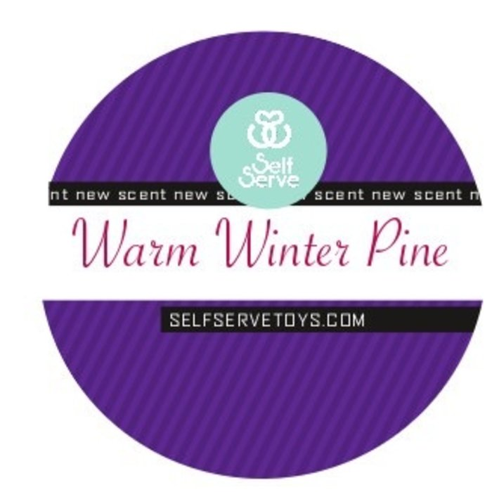 WARM WINTER PINE MASSAGE CANDLE LG