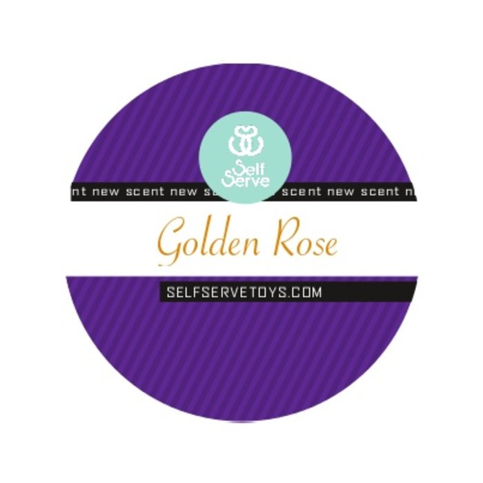 GOLDEN ROSE MASSAGE CANDLE SMALL