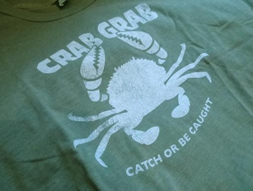 Crab Grab Crab Grab Marina Tee