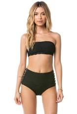 Amuse, Stretch lace Bandeau Swim Suit Top